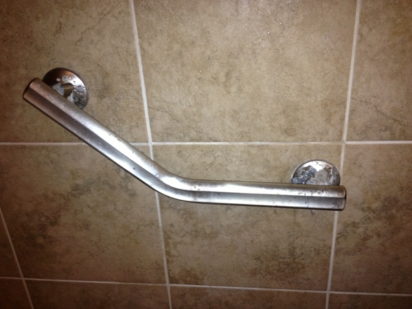 Shower Grab Bar - Corrosion Report (16\