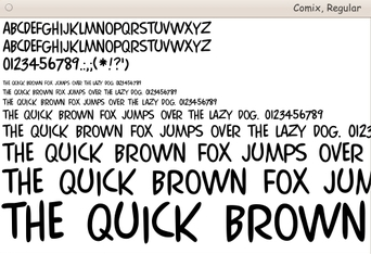 Download Page of scalable FONT files --- GROUP-1 --- for Linux
