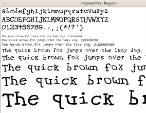 Download Page of scalable FONT files --- 'Group-2' --- for Linux