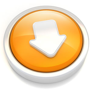 download_button_circle_3D_angled_whiteAr