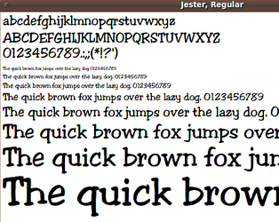 INDIVIDUAL SCALABLE FONT files - Download Page --- in