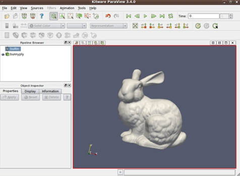 Remote 3D files - Web Browser Viewing Notes - on Linux