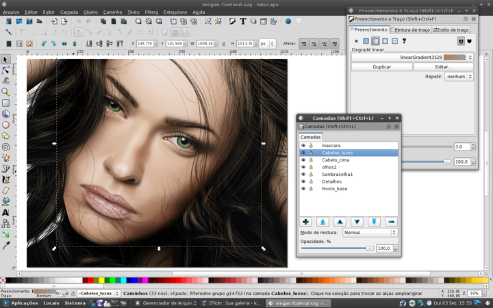 Drawing Lines With Inkscape : Inkscape usage notes