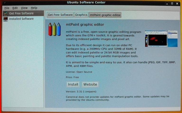 Screenshots of installing Ubuntu 9 10 over an old Xandros